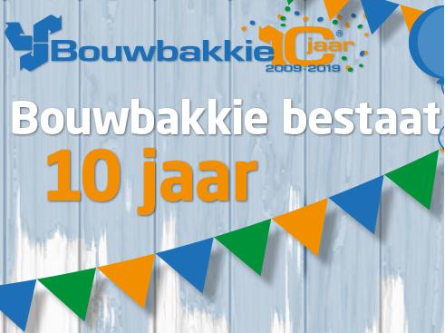 Bouwbakkie 10 jaar! Doe mee aan onze winactie en maak kans op een cadeaubon t.w.v. een BiggerBag!
