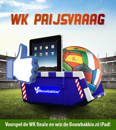 Wie wint het WK voetbal? Doe mee en win een ipad!