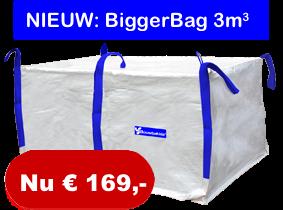 Bigger bag 3m3 huren